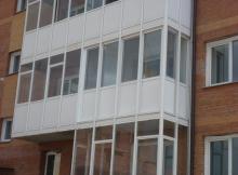 Остекление балкона вторым контуром