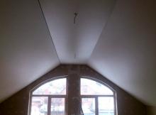 Готовый натяжной потолок
