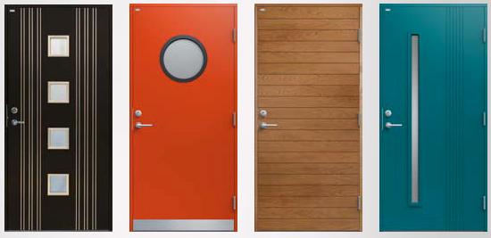 Деревянные двери современные