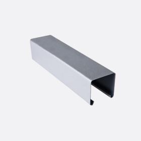 Карниз верхний 25х24, серый П,5м