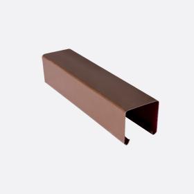 Карниз верхний 25х24, т. коричневый П,5м
