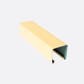 Карниз верхний 25х24, св. желтый П,5м, 3144