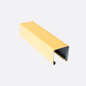 Карниз верхний 25х24, желтый П,5м