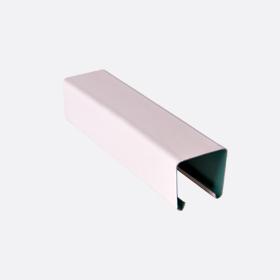 Карниз верхний 25х24, св.розовый П, 5м