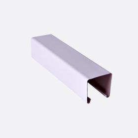 Карниз верхний 25х24, сиреневый П,5м, 4805