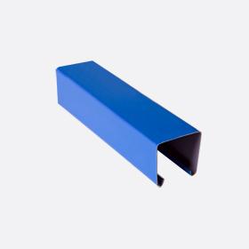 Карниз верхний 25х24, синий П,5м