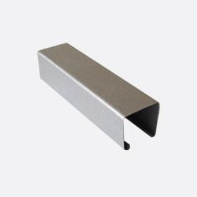 Карниз верхний 25х24, серебро П,5м
