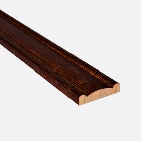"""Валанс бамбук тигровый глаз 1"""", 120см"""