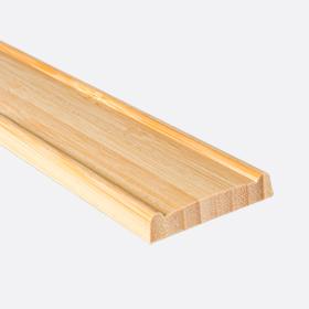 "Валанс бамбук натуральный 2"", 120см"