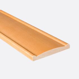 """Валанс бамбук кофе 2"""", 120см"""