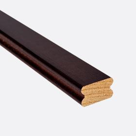 """Карниз нижний бамбук махагони 1"""", 120см"""