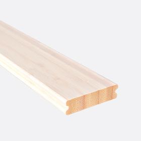 """Карниз нижний бамбук отбеленный 2"""", 180см"""
