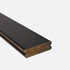 """Карниз нижний бамбук махагони 2"""", 120см"""