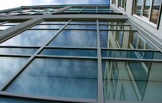 фото алюминиевые окна