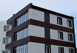 фото алюминиевого фасада