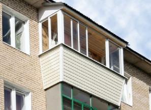Установка крыши на балконе последнего этажа фото