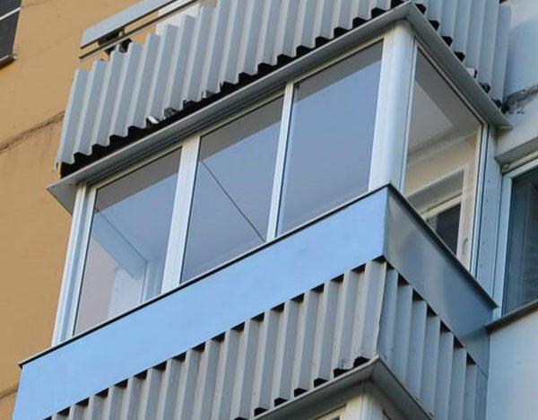 Балкон алюминиевый Provedal 3000х800х1600