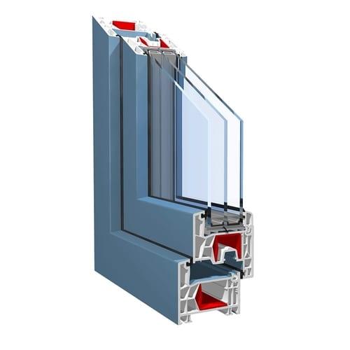 KBE 76 покрытие proCoverTec ламинация голубой