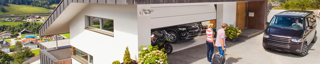гаражные ворота trend